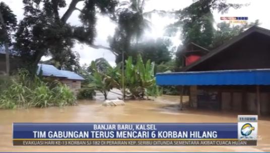 #MetroSiang BPBD Kalimantan Selatan menyatakan hingga hari ini sebanyak 21 orang dilaporkan meninggal dunia dan 6 orang masih dalam tahap pencarian dalam musibah #Banjirkalsel. streaming: