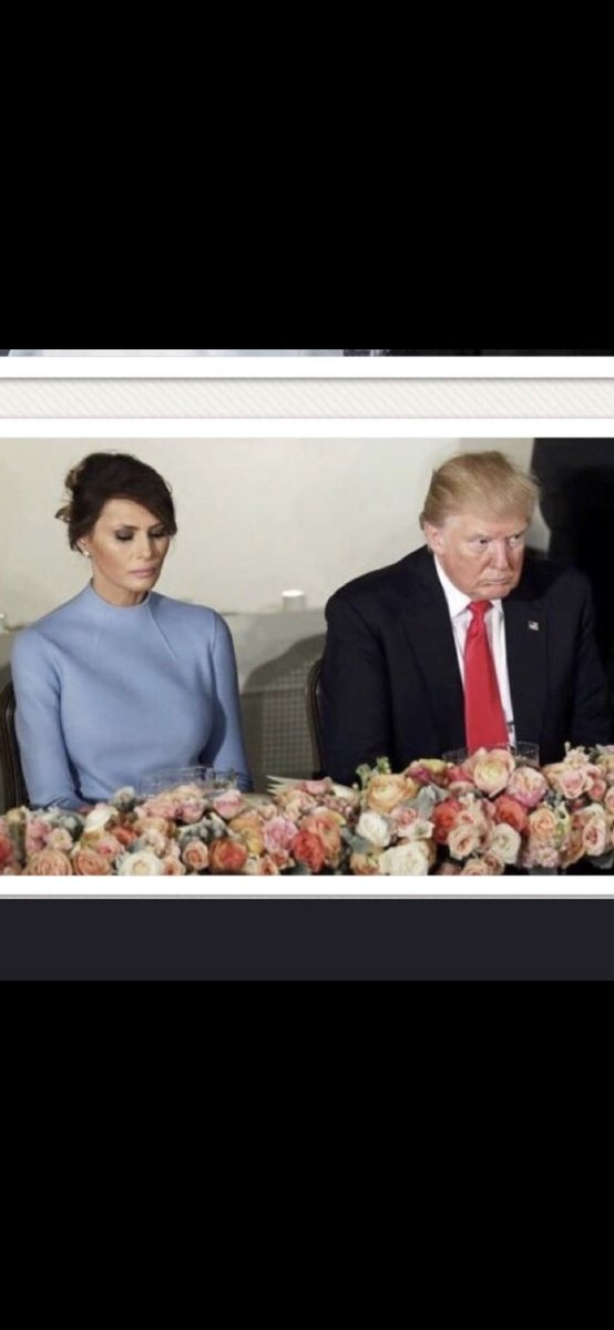 His so, so happy marriage.  #ThingsImGonnaMissAboutTrump