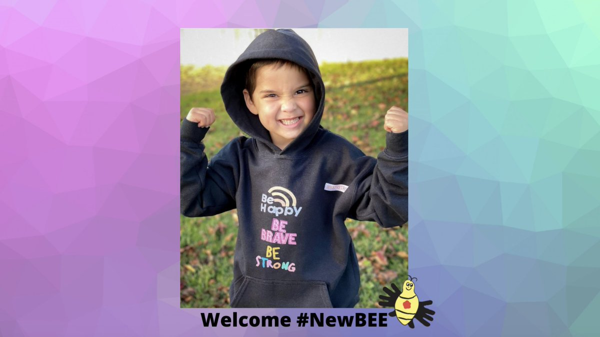 Meet Katy - our fierce & feisty #NewBEE who likes unicorns, rainbow colors & dances/sings the day away to anything Taylor Swift or Katy Perry. Your turn, #BEEhive. Time to love on this #BEEutiful girl & her amazing family. 💛🐝 #leukemiawarrior #BEEhappy #BEEbrave #BEEstrong💪