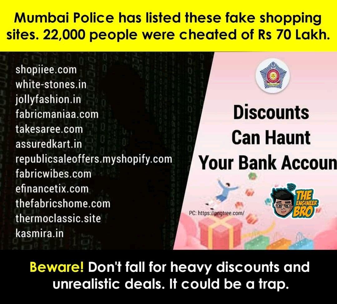 #BeCareful #CyberFraud  @MumbaiPolice