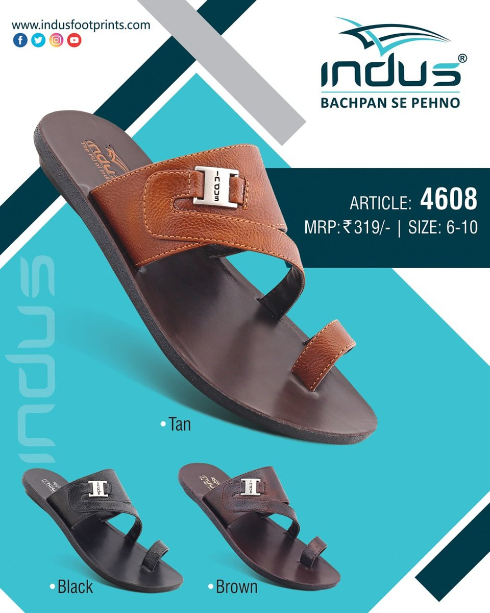 Enjoy being the center of attraction 🧲 #Indusfootwear #bachpansepehno #style #sandals  #casualfootwear #comfortwear #newyear #2021. . . . . . . DM to place order or contact us directly through 📞+91 8875656000