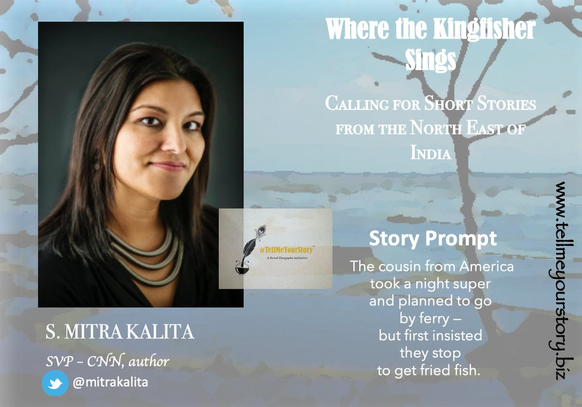 Few days left for the submissions. Go 4 @mitrakalita's wonderful #storyprompt. Share #stories set in the #NorthEast of India. Tell us about life & livelihood of the eight sisters.  #WritingCommunity #writingprompt #writingprompts #northeastern #storyprompt