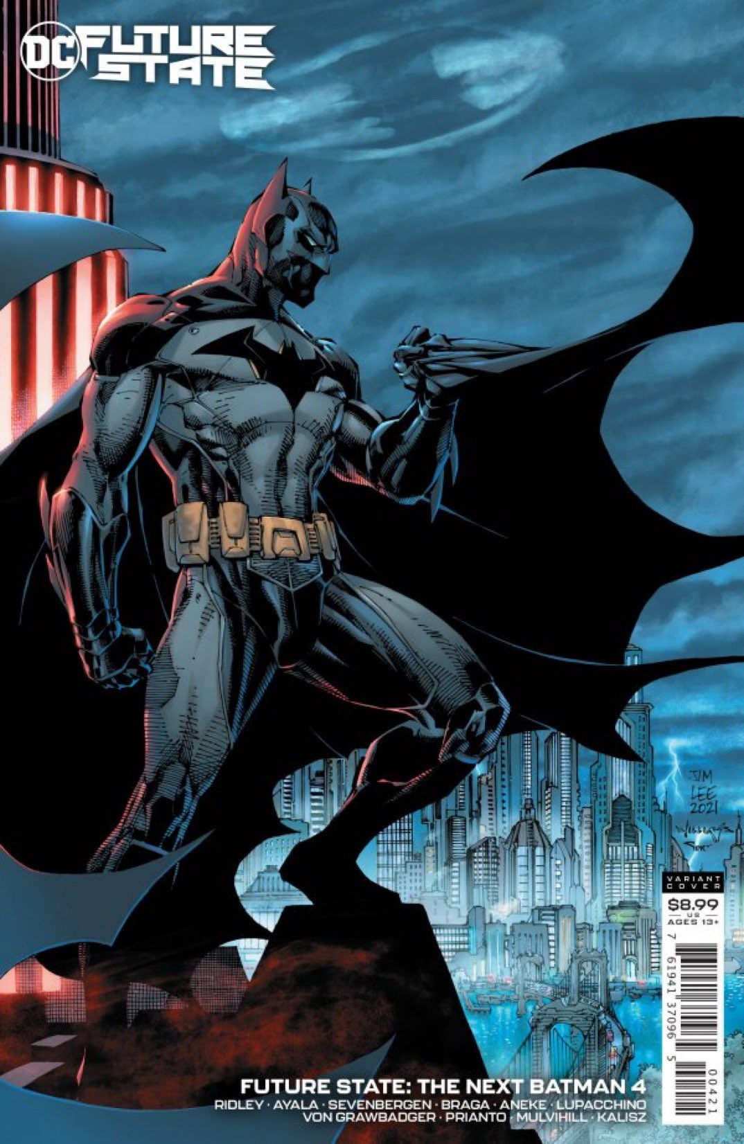 DC Comics Next Batman Hush Future State Jim Lee Tim Fox