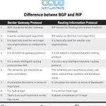 Image for the Tweet beginning: Difference between Border Gateway Protocol