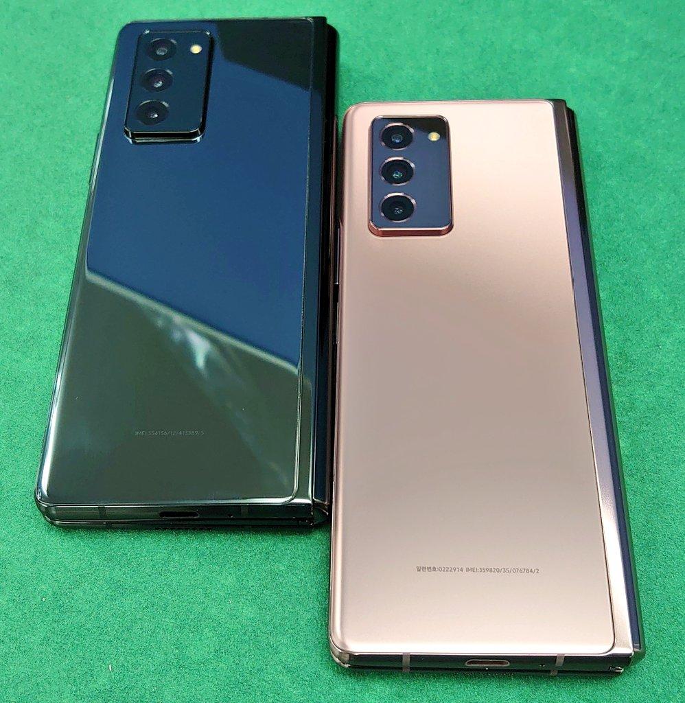 ☆2つ折り銀河①☆ Galaxy Z Fold2 5G SM-F9160 RAM12GB ROM512GB 未使用品 税込219,800円 今週の入荷は ブロンズ×4 ブラック×2 という感じです!! ⏬商品ページ⏬  現在通販購入は可能ですが、店舗搬入は明日になります。 #イオシス #GalaxyZFold2
