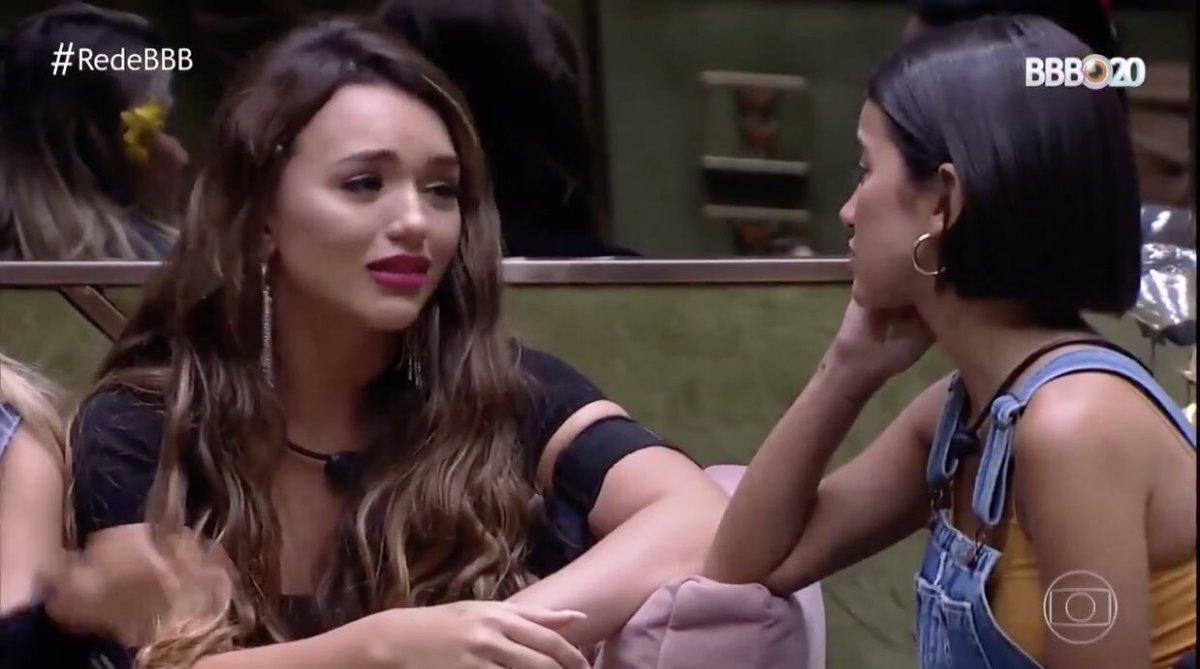 """""""Amiga, nossos ex entraram no BBB."""" #BBB21 #RedeBBB #redeglobo"""