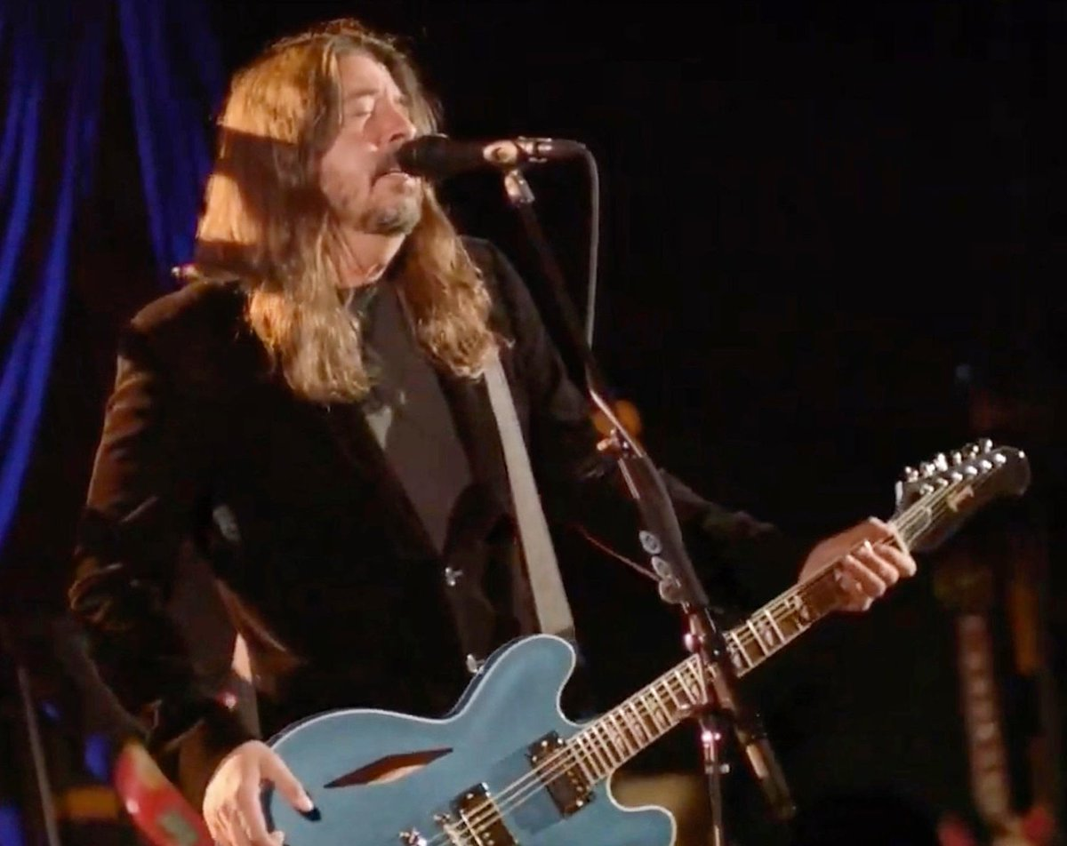When did @BobSeger join the @FooFighters? #CelebratingAmerica #InaugurationDay