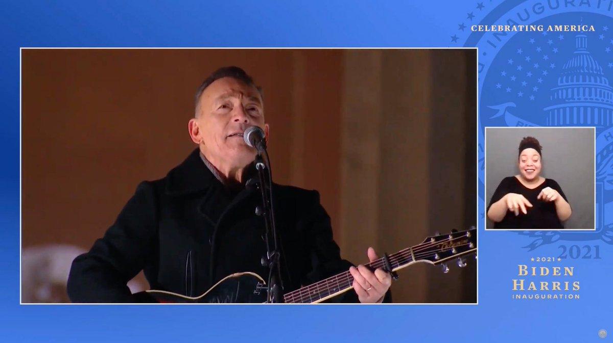 #Springsteen. Chi meglio di lui per uno show intitolato #CelebratingAmerica ?