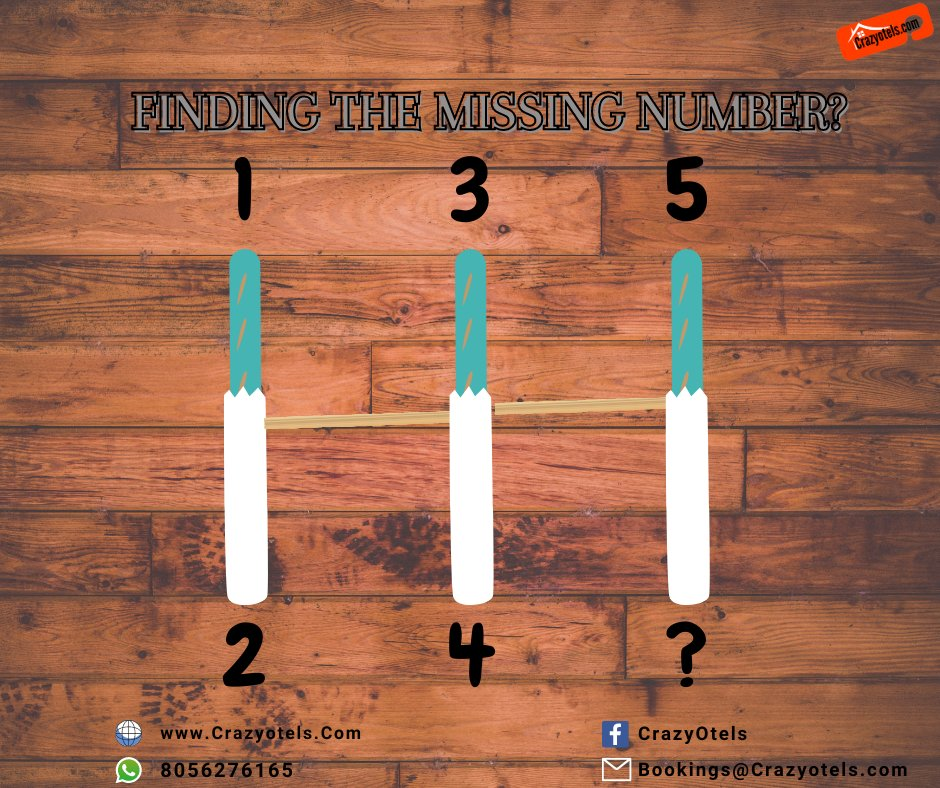 Finding the Missing Number? Website :  Phone : +91 80562 76165, +91 86676 27616 #Crazyotels #trending #indianmemes #meme #hotels #hotelroom #Family #Journey #Maps #love #Traveling #budgethotel #puzzle #puzzles #puzzletime  #puzzlelover #mainananak #cube