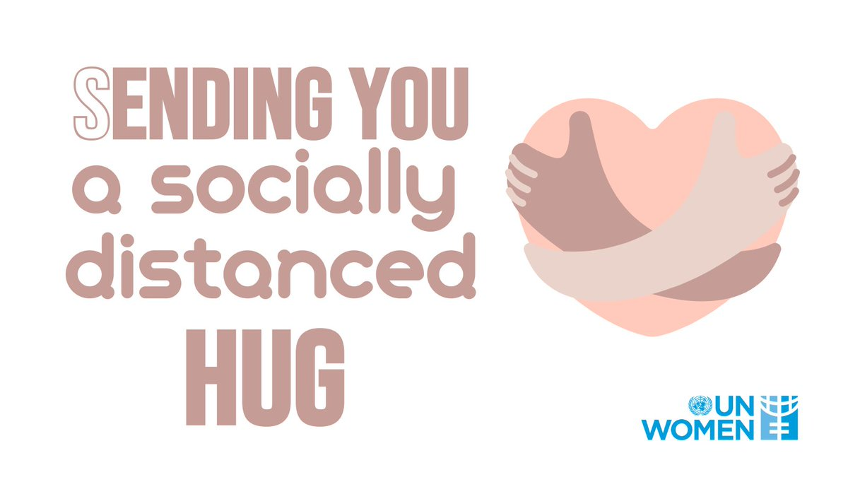 The #COVID19 pandemic means some of us have been isolated from friends and family. This hugging day send a socially distanced hug to let  someone know you care ❤️