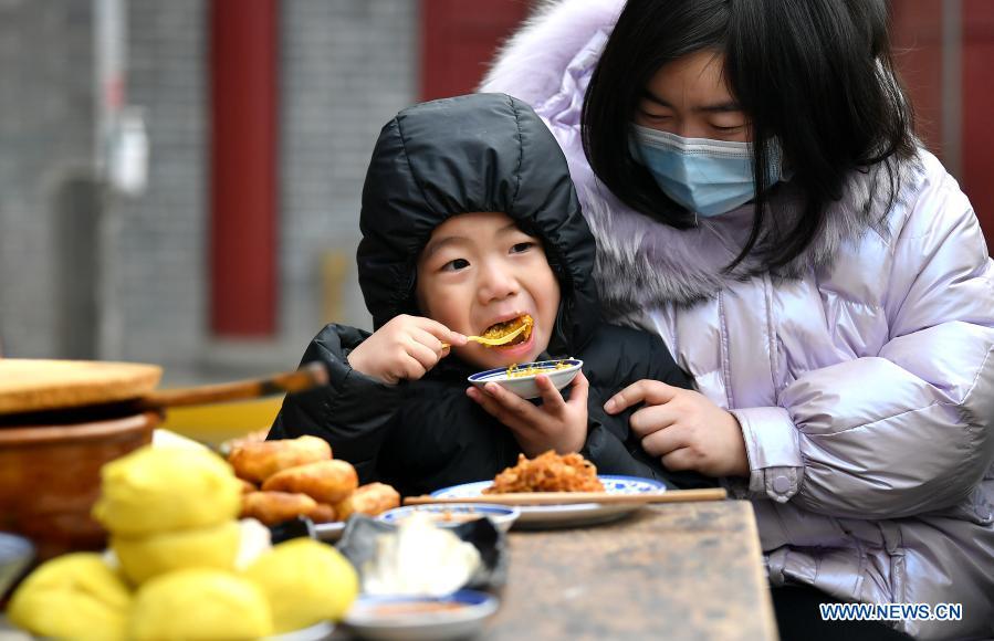 Laba Festival celebrated across China Source: Xinhua #FestiveSeason #laba #China #culture