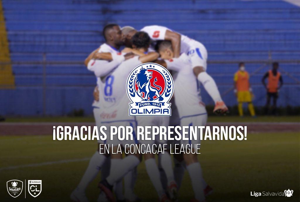 ¡Gracias @CDOlimpia por su gran participación en la #ConcacafLeague! 🙌🏻🦁  #Honduras #Olimpia #LigaNacional #LigaSalvaVida