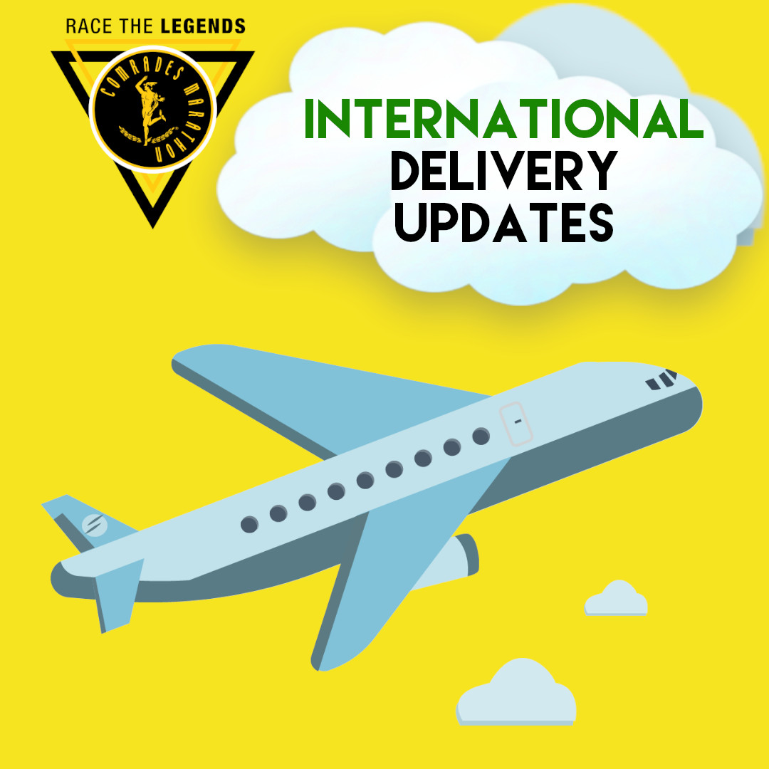 INTERNATIONAL #RACETHECOMRADESLEGENDS PARTICIPANTS  All #RaceTheComradesLegends items have been dispatched. Packages have either been sent to Comrades Ambassadors for distribution or directly to runners. Covid-19 has slowed the process severely. Article: https://t.co/QfgV9UF7ZE https://t.co/fQI2kIz8S8