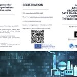 "Image for the Tweet beginning: 📣🆓ONLINE COURSE: ""Data Management for"