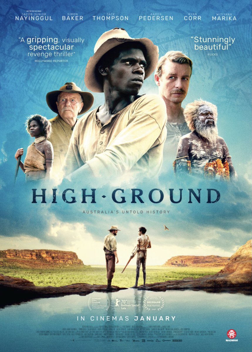 Thankful to attend  the Melbourne premiere of @HighGroundFilm Congratulations to all the amazing cast and crew! Check it out if you can!  #cinema #australianstory