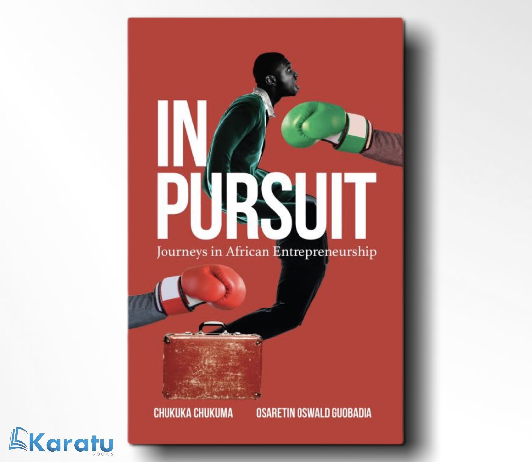 Not your regular business /entrepreneurship book !  Business and life intersect.  Two Bendel boys invite you to laugh, yell, and reflect, as they converse from head and heart. @InpursuitA   Available in Accra : GH₵ 100. 00 #thursdayvibes #businessowner #ghana #accra