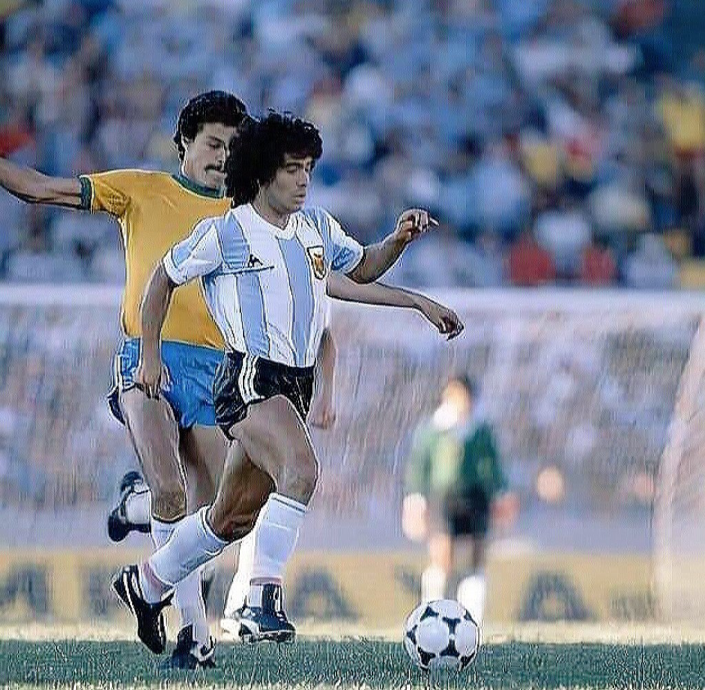 Diego Maradona  #Argentina #Brazil https://t.co/ntjPfFkm5B