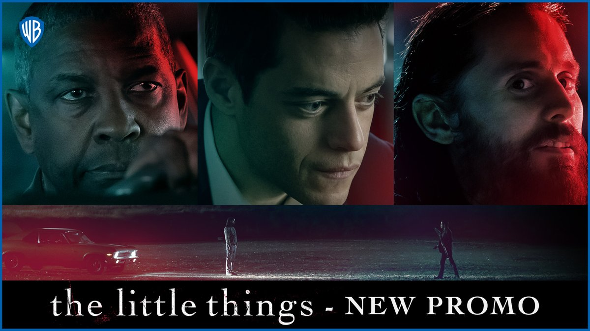 A compelling edge of a seat thriller-The Little Things starring Academy Winners Denzel Washington, Rami Malek and Jared Leto- In cinemas January 29. #TheLittleThingsMovie   @warnerbrosindia