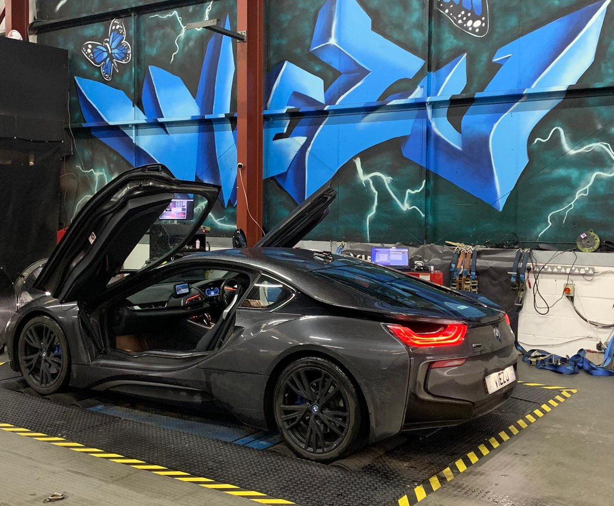 #RT @ViezuTech: BMW Tuning again, this time BMW I8 tuning at remapping at VIEZU,  nice to have something a little space age on the dyno  #bmw #bmwi8 #bmwtuning #bmwremap #viezu