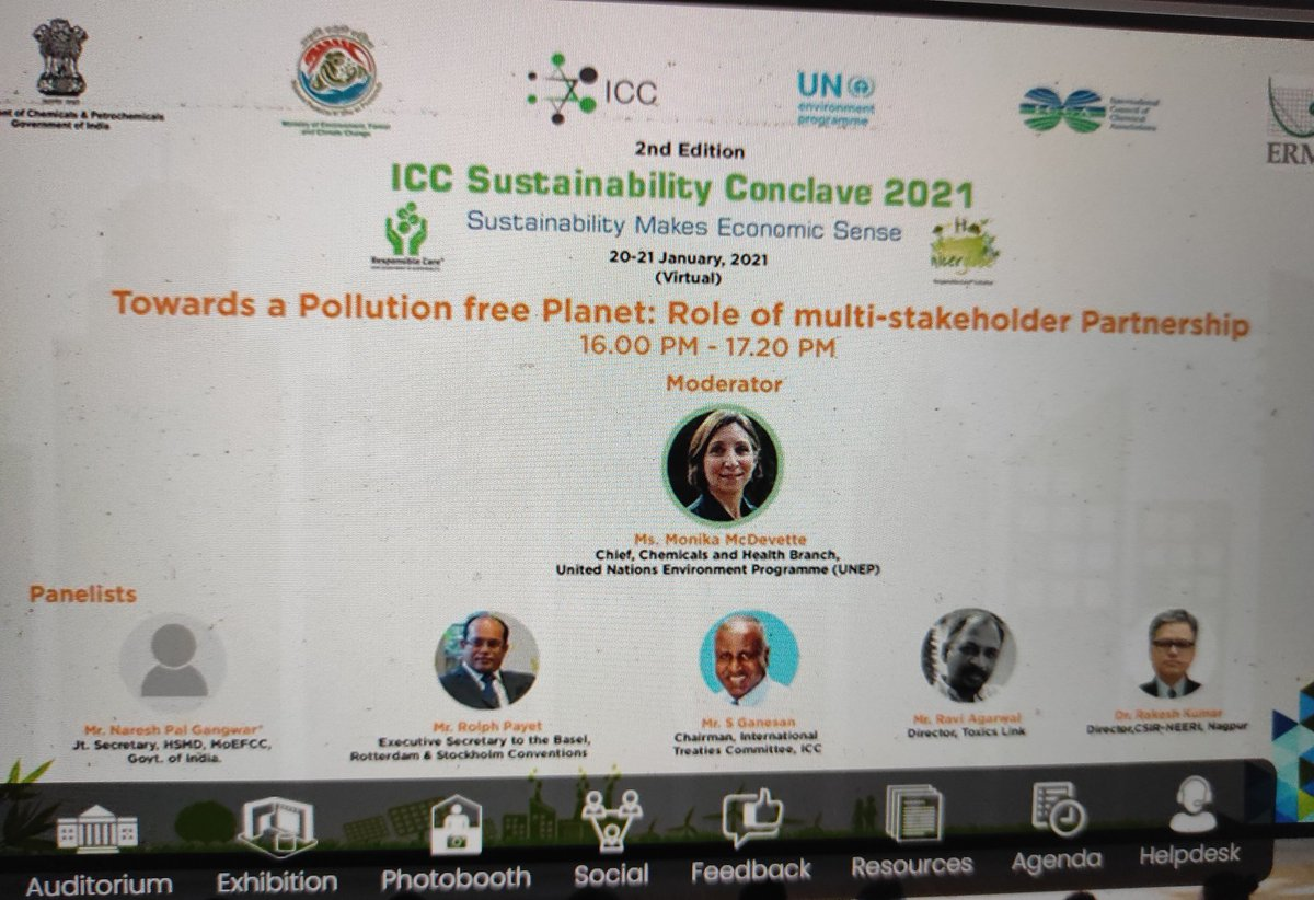 Starting soon, do join the discussions. #beatpollution