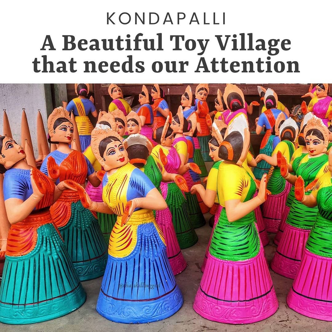 As our Hon'ble PM urges to increase focus on the toy industry, it is time to be #Vocal4Local for the skilled craftsman from Kondapalli and support the #MakeinIndia initiative. @narendramodi   @prahladspatel   PC: Jagriti Jhunjhunwala  @Tourism_AP