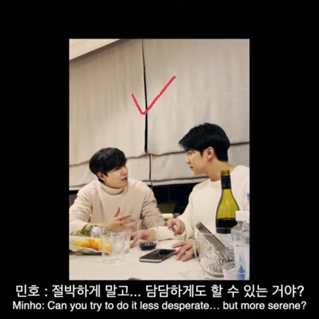 Did they have drink together in seunggi's house? 😆  #LeeSeungGi #LeeMinHoFilmxLeeSeungGi #이승기