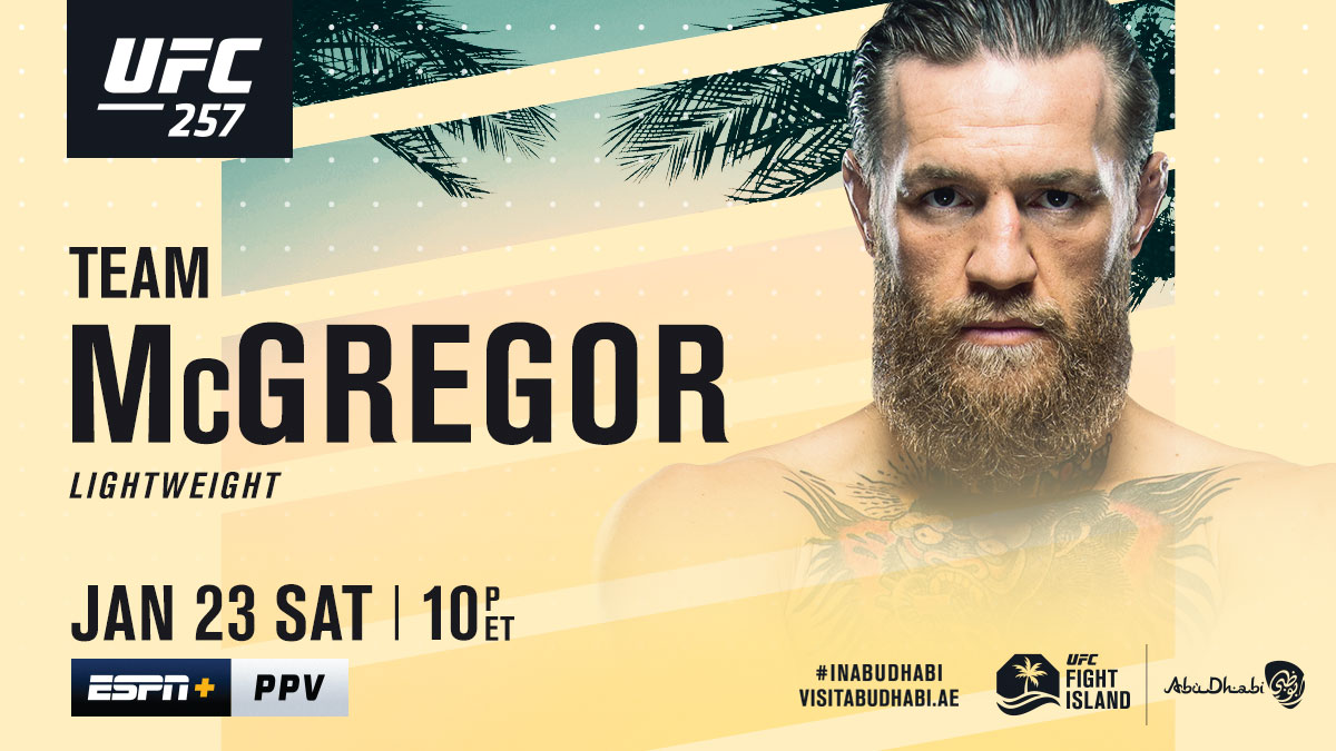 Ready to make a run back to the top 🏆  RT if you're with @TheNotoriousMMA!  [ Get the #UFC257 PPV: https://t.co/ZSsZOYmZMy ] https://t.co/ZALwbZV29a