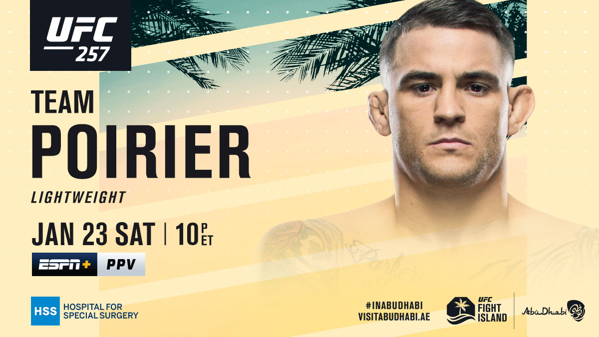 Not the same fighter from 2014!  RT if you're with @DustinPoirier 💎  [ Get the PPV: https://t.co/ZSsZOY5oV0 | B2YB @HSpecialSurgery ] https://t.co/s6YGk3jbyB