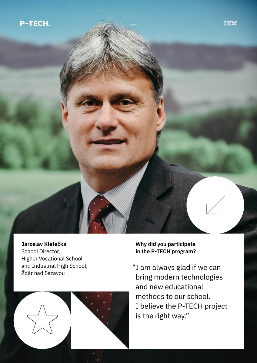 #FACESofPTECH  Meet Jarolav Kletečka #director of #PTECH school #spszr #motivation #dedication #innovation   #tvareptech #goodtechibm @PTECHNETWORK #weareptech @Country4Future @msmtcr #CzechRepublic