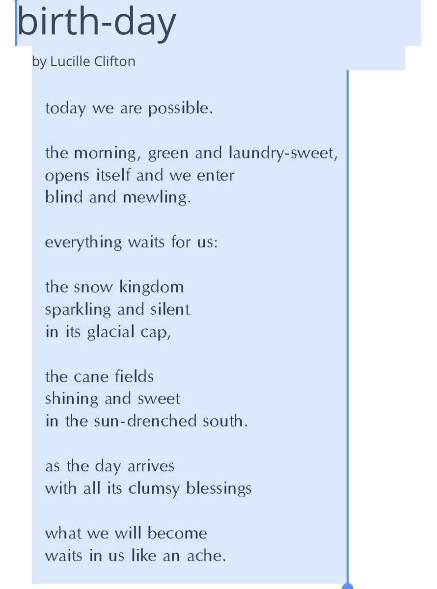 Birth-day   #thursdaymorning