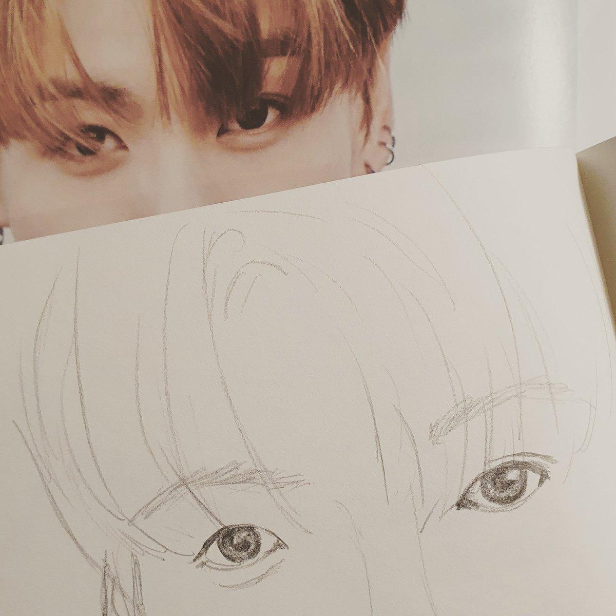 I didn't do any justice to jungkook's bambi eyes 😅  #jungkook #jeonjungkook #btsjungkook #bts #bangtansonyeondan #btsfanart #sketch #sketchbook #drawing #art #bangtan #onebangtanaday #baguettesarmysxart #youneverwalkalone #ynwa