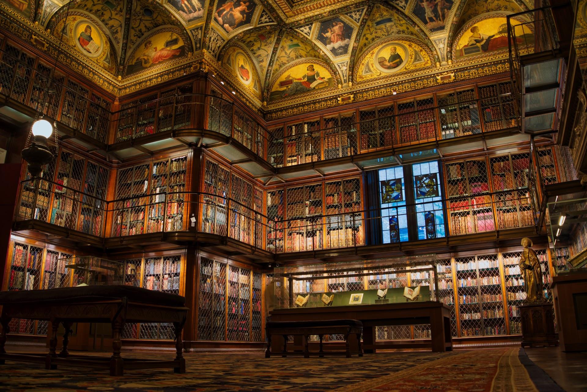 Biblioteca de J.P. Morgan - Las bibliotecas más bonitas del mundo