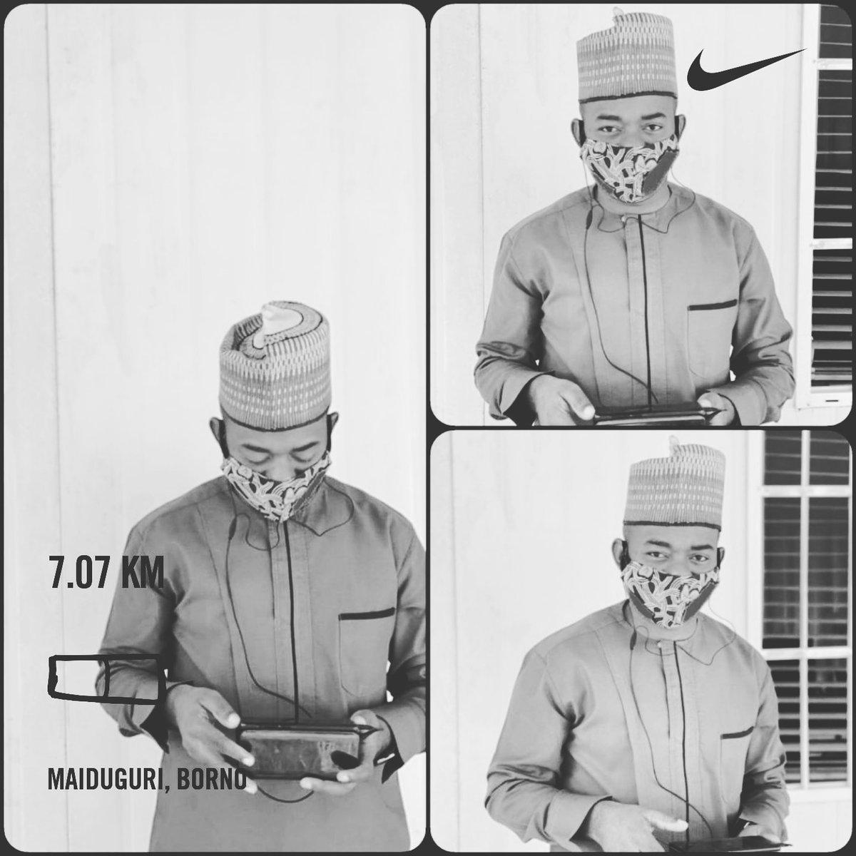 7.07km completed.   I rep Team Prefab.  #naijaFittest #runner #nikeplus #fitfam #strava #GoogleFit #itsAmarathon #ItsALifestyle #IamAccountable #yourturn   ✌🏃♂️💪🔥🇳🇬👌✅