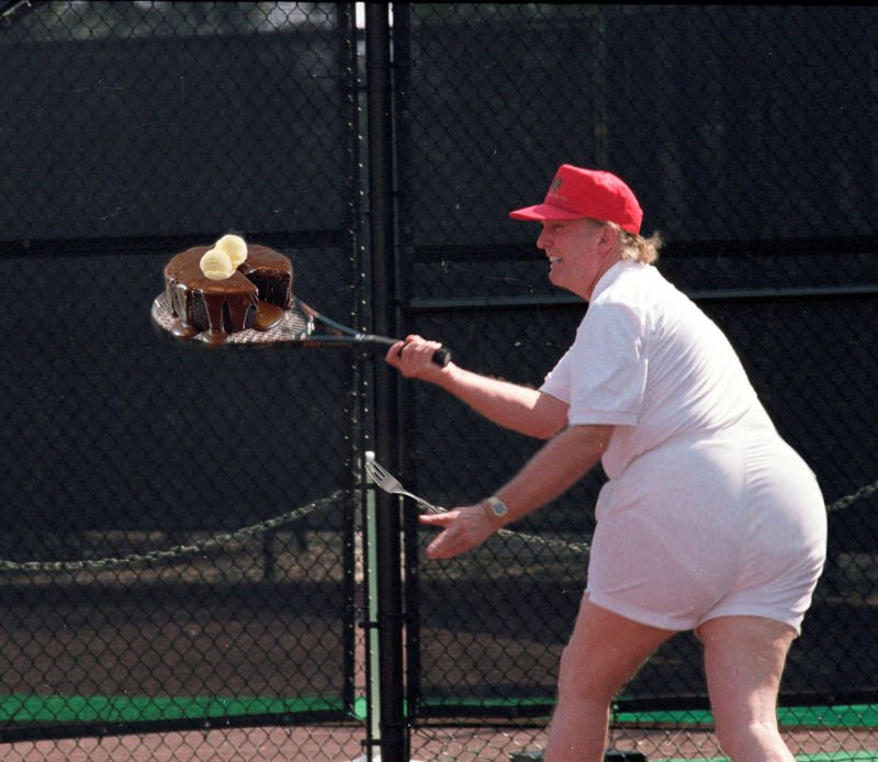 #ThingsImGonnaMissAboutTrump His big fat butt.