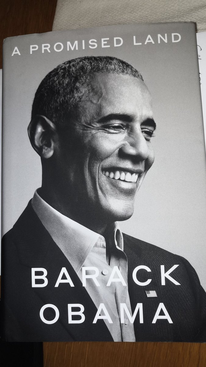 @pietroraffa @serenabini73 Lo puoi scoprire molto bene leggendo.... #BarackObama #apromisedland