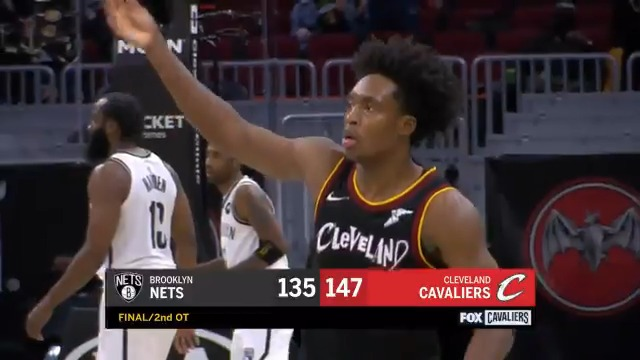 Relive Collin Sexton's 20 straight PTS in OT & 2OT that lifted the @cavs on Wednesday!  @CollinSexton02 follows his career-high 42 tonight in a rematch vs. the Nets at 7:30pm/et on NBA League Pass.  Watch FREE: https://t.co/eeN7m4mzKh https://t.co/DOxSkYMyHg