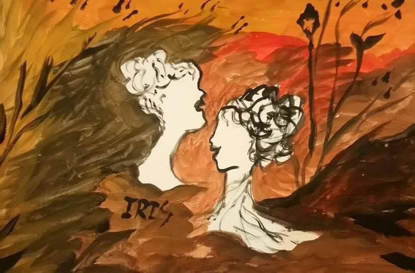 The Busts, painted by @IRISUNART #irisunart #art #artistic #artist #arte #artsy #arts #painting #paintings #paint #watercolor #watercolors #instartist #instalove #instalike #galleryart #onlinegallery #fineart