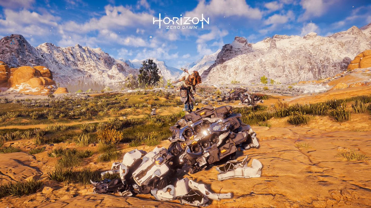 When you win at #Bagarre 💪  #HorizonZeroDawn #HZD #VirtualPhotography #VP #PhotoMode #HZDphotoMode https://t.co/ko9sICjGn6