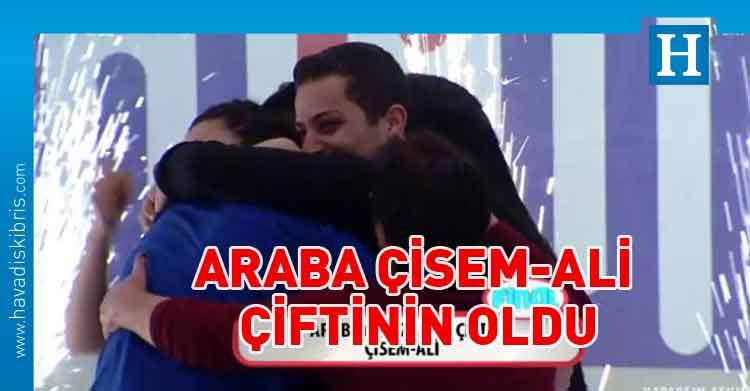 Yaparsın Aşkım Kıbrıs Özel bölümünde araba Çisem-Ali çiftinin oldu https://t.co/7a47m3JqjE https://t.co/xpPlg5Cn1D