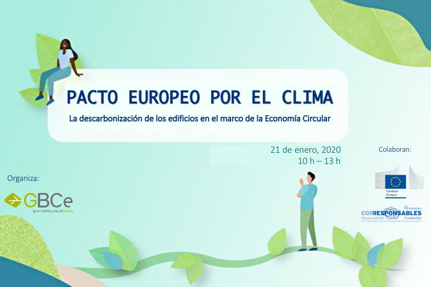 Hoy a las 10:00 am, participa en la jornada organizada por @GBCEs sobre como alcanzar los objetivos del Pacto Verde Europeo en la construcción 🏗️   Temas destacados👉 #EconomiaCircular y descarbonización de los edificios.  Inscripciones https://t.co/tlSuD3U86g  #Sostenibilidad https://t.co/ImDlfh9sbV