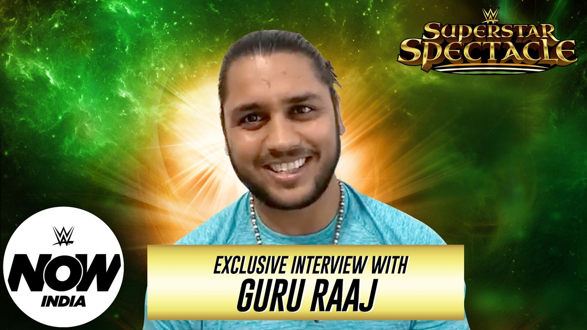 #India's first high-flyer, @gururaajwwe talks about his inspiration and challenges leading up to the #WWESuperstarSpectacle.   #WWENowIndia @SonySportsIndia