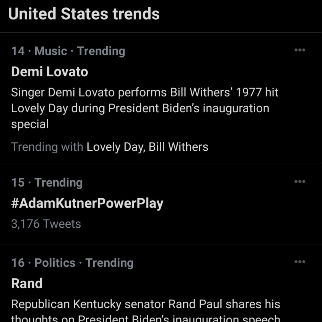 Adam-  Always remember the fans who made you trend 15th on Twitter on a very historic Inaugural Day.  Just saying...  *cough*  playoff tickets  *cough*  *cough*  😏 😉  #AdamKutnerPowerPlay @AdamSKutner #GoKnightsGo #VegasBorn #GoldenKnights @GoldenKnights