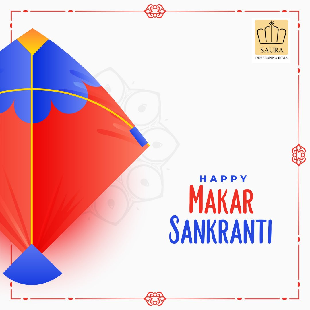 A festival celebrated under different names but the same faith! This is the community that we have all built and we are proud of it. We wish you all a very Happy Makar Sankranti, Pongal and Uttarayan.  #happymakarsankranti #makarsakranti #kites #Indianfestival #SauraDevelopers