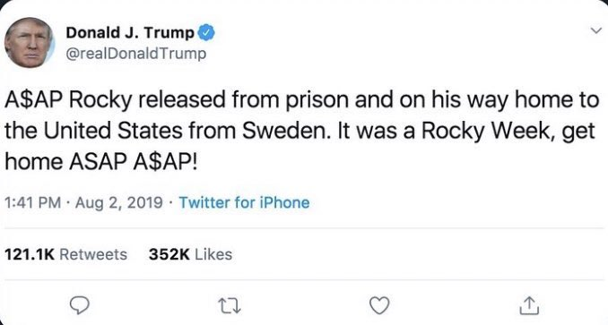 #ThingsImGonnaMissAboutTrump
