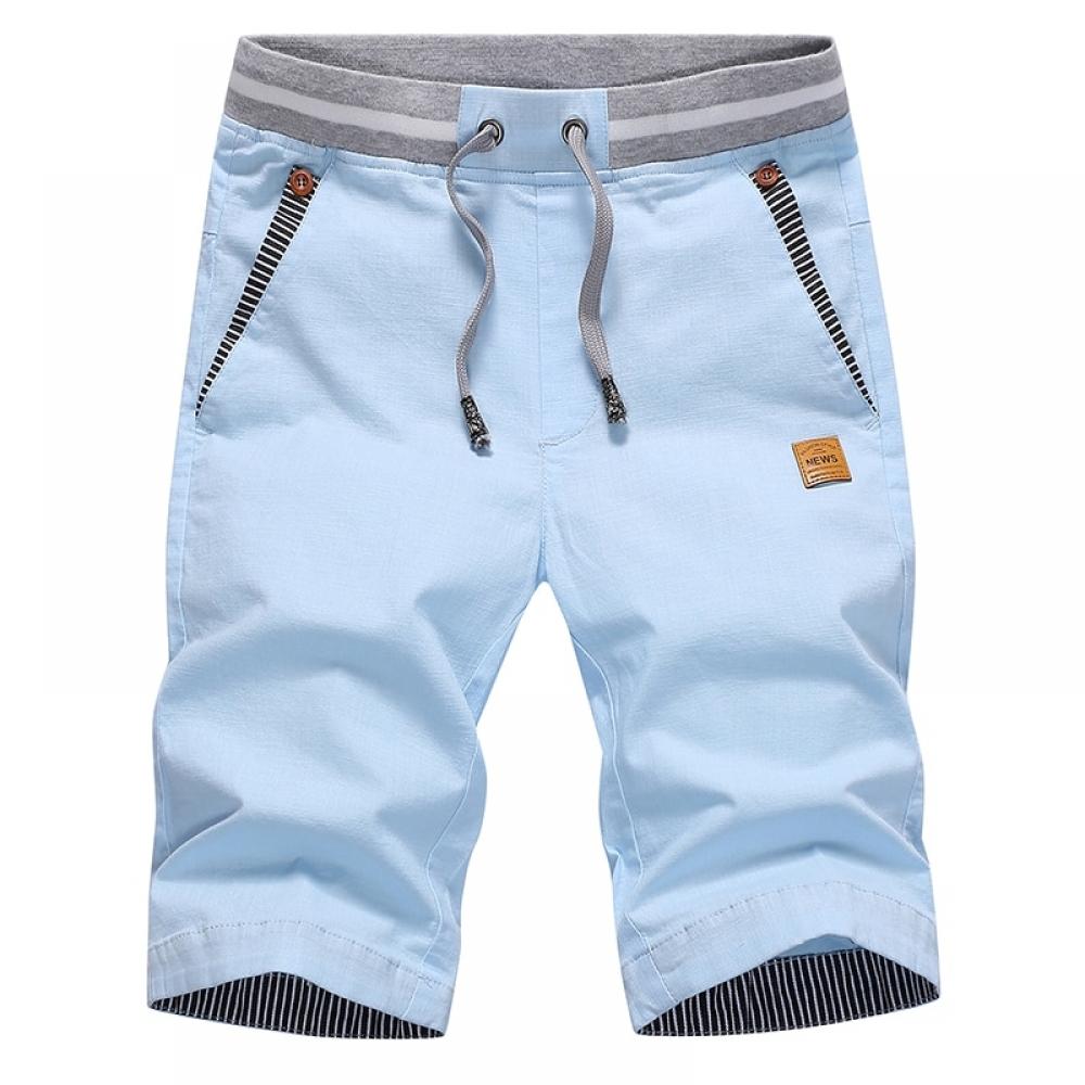 #food #tflers Men Summer Breathable Cotton Shorts