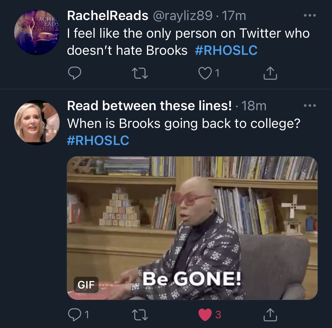 There are 2 types of #RHOSLC fans.