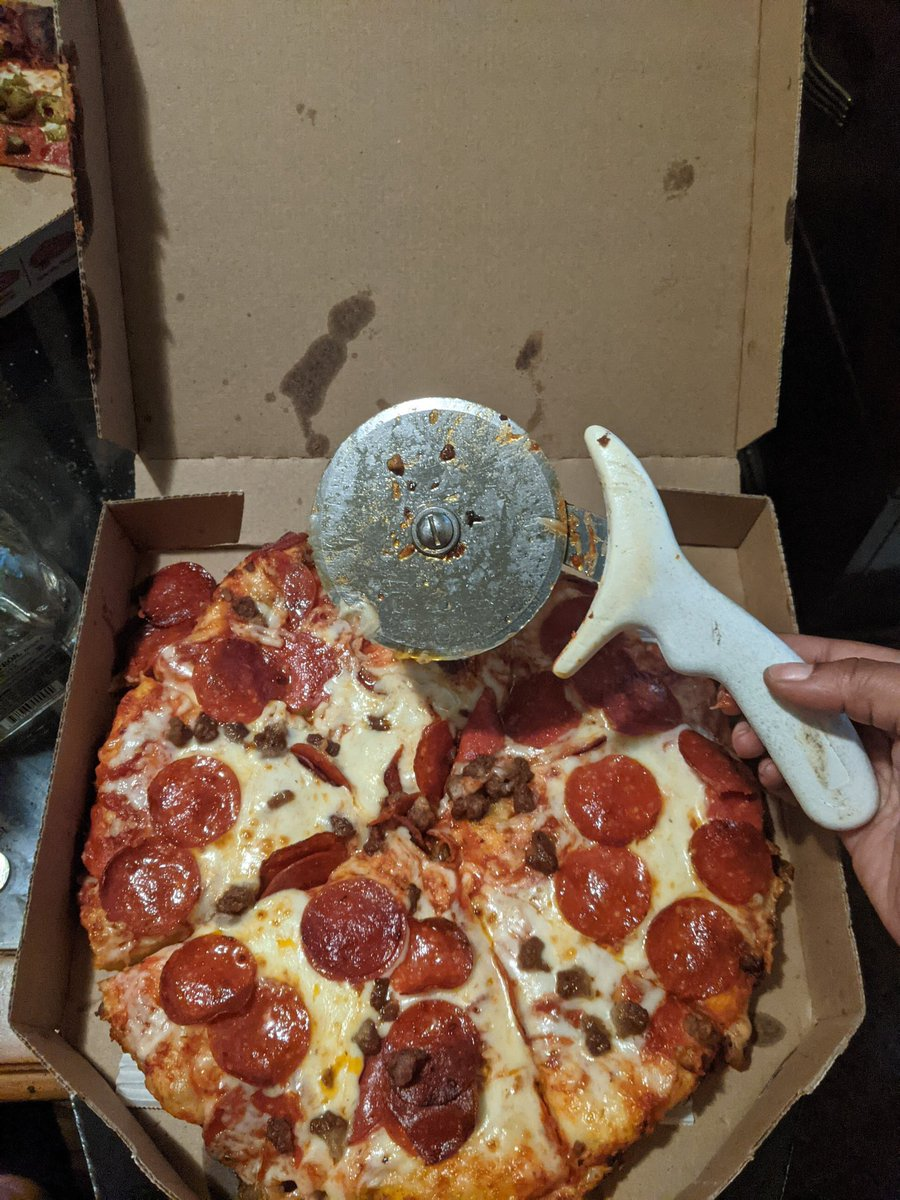 @dominos  please explain to me why this came with my pizza delivery ... I just don't remember ordering this item with my two topping medium pizza 🙄
