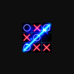 Image for the Tweet beginning: Tic Tac Toe Glow for
