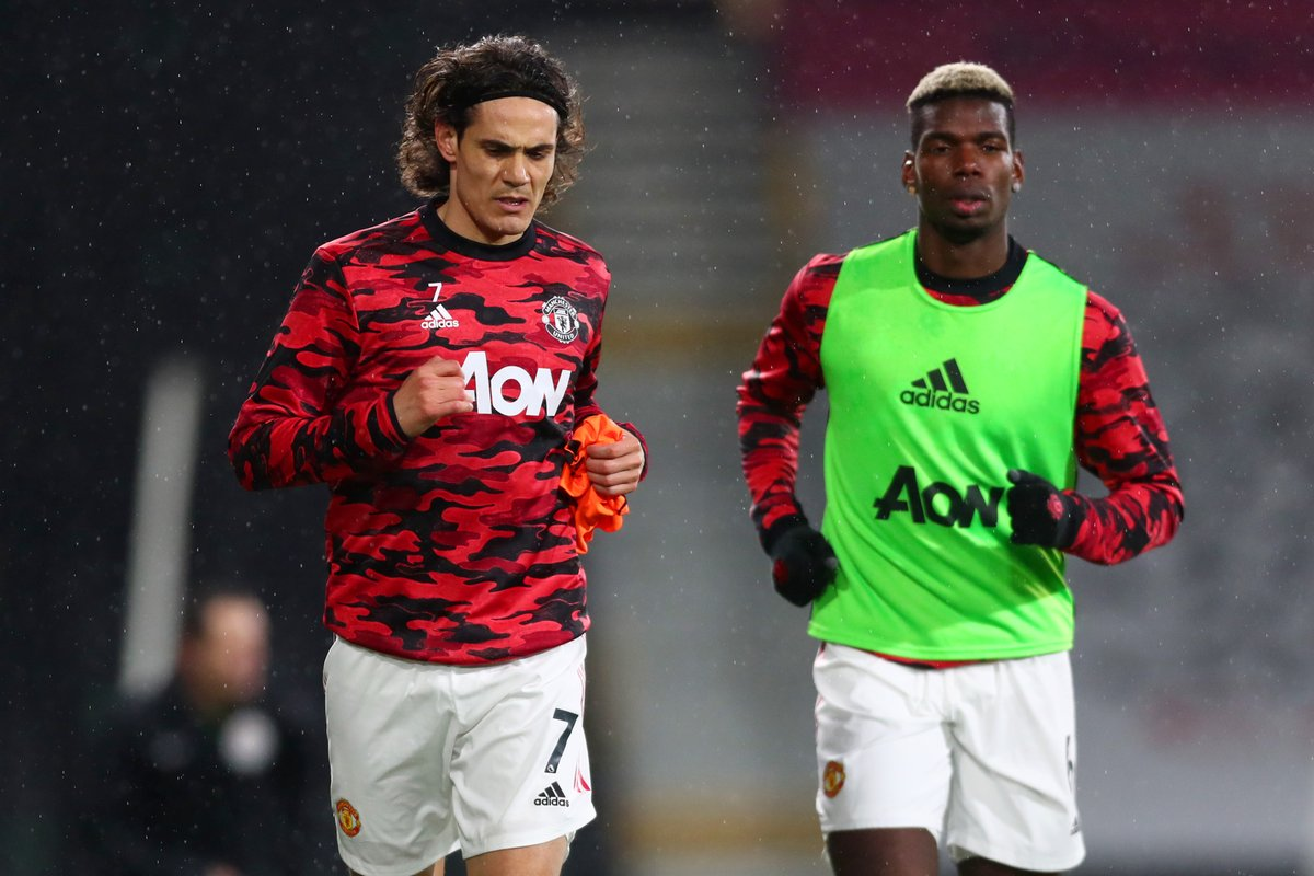 *Images that precede a vital United win*