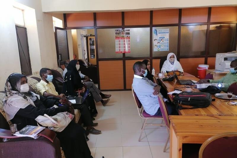 لجنة الطوارئ الصحية بالقضارف تقف على الوضع الصحي بمعسكرات اللاجئين الاثيوبيين   #سونا #السودان